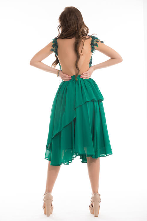 Rochia Adela Verde